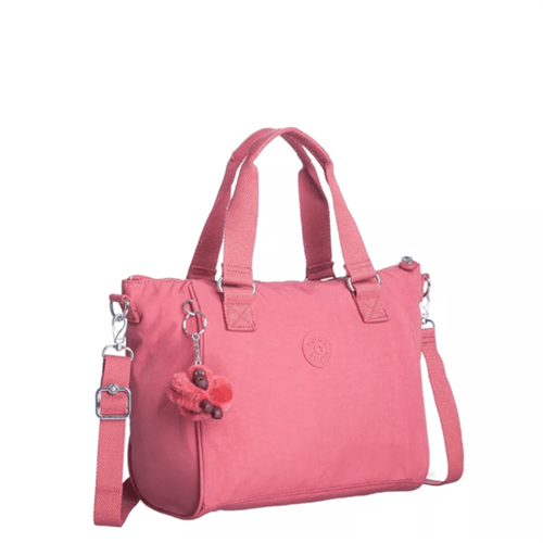 Bolsa Kipling Amiel-Smooth Berry