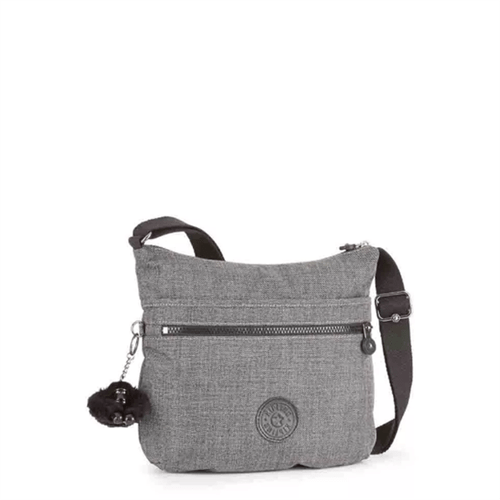 Bolsa Kipling Arto-Cotton Grey
