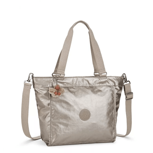 Bolsa Kipling New Shopper S-Metallic Pewter