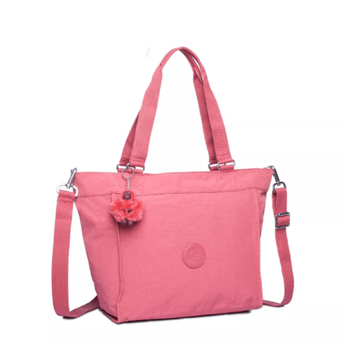 Bolsa Kipling New Shopper S-Smooth Berry