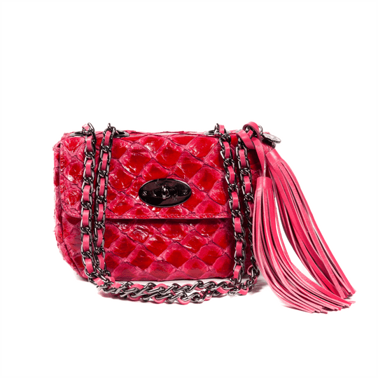 Bolsa La Spezia Mini Liz Pirarucu Pink/Red