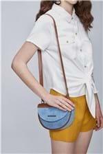 Bolsa Meia Lua - Tam: UC / Cor: BLUE