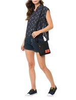 Bolsa Micro Calvin Klein Jeans Flat Pack Tiracolo Preto - U