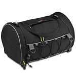 Bolsa Mochila Cilindrica 33 Litros Givi Ea107b Moto Universal Easy-T Preto + Capa de Chuva Preto