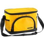 Bolsa Térmica 5 Litros com 3 Divisões Amarela/preta - Vonder