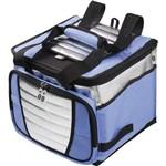 Bolsa Termica Cooler 24lts. C/alça Azul Mor