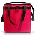 Bolsa Termica Familia 36x32x26cm Vermelha