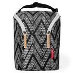 Bolsa Termica para Mamadeira - Double Bottle Bag - Zig Zag Zebra Skip Hop