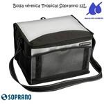 Bolsa Térmica Tropical 12 Litros Soprano Preta