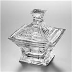 Bomboniere de Vidro Sodo-Cálcico com Titanio Cascade 21cm