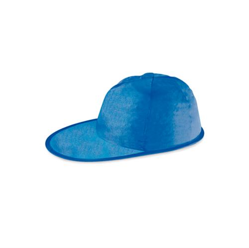 Boné Dobrável com Bolsa para Sublimação na Cor Azul