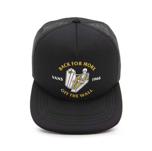 Boné Vans Trucker Stay Forever Black