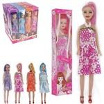 Boneca Anne com Vestido Sortidos Colors na Caixa Wellkids