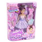 Boneca Articulada com Acessórios - Funville Sparkle Girlz - Bailarina - Angélica - Dtc