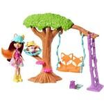 Boneca Articulada - Enchantimals - Aventuras no Parquinho - Mattel