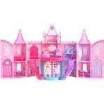 Boneca Barbie - a Princesa e a Pop Star - Castelo Mini Princesas - Mattel