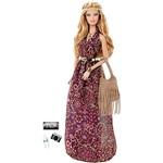 Boneca Barbie Colecionável The Barbie Look Vestido Lilás DGY11/DGY12 - Mattel