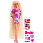 Boneca Barbie Colecionável Totally Hair - Mattel