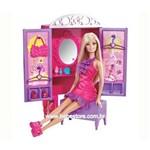 Boneca Barbie com Comodos da Casa - Armário