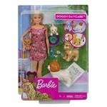 Boneca Barbie Doggy Daycare Animais de Estimação - FXH07