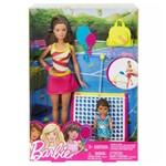 Boneca Barbie Esportista Tenista Mattel Dvg13 (136679)