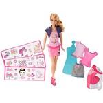 Boneca Barbie Estampa Fashion BDB32 - Mattel