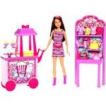 Boneca Barbie Family Irmãs no Parque Pipocas e Recordações da Feira X9058/X9059 Mattel