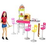 Boneca Barbie Family Pizzaria 3 é Demais - Mattel