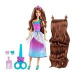 Boneca Barbie Fan - Princesa Corte Encatadado - Ref. Dmk23 - Mattel