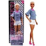 Boneca Barbie Fashionista 82 Cabelo Joãozinho Moderna Mattel