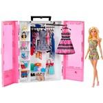 Boneca Barbie Fashionistas Closet de Luxo com Boneca - Mattel