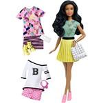Boneca Barbie Fashionistas com Acessório Fashions 34 B Fabulous DTD96/DTD97 - Mattel