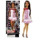 Boneca Barbie Fashionistas Morena Negra Pretty In Python Doll Número 21 - Mattel
