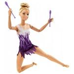 Boneca Barbie - Feita para Mexer - Esportista - Ginasta - Mattel