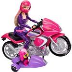Boneca Barbie Filme Motocicleta e Pet