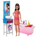 Boneca Barbie Móveis - Hora do Banho - Mattel
