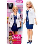 Boneca Barbie Profissões Doutora Médica Plus Size - Mattel