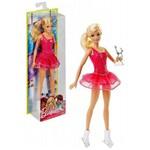 Boneca Barbie Profissões Patinadora Artística no Gelo Mattel