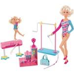 Boneca Barbie Quero Ser Professora de Ginstica Olimpica Mattel