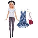 Boneca Barbie - Série Fashionista - Happy Hipster - Mattel