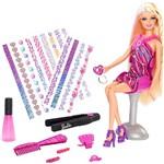 Boneca Barbie Tatuagem de Cabelo BDB19 - Mattel