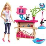 Boneca Barbie Tratadora de Pandas - Mattel