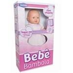 Boneca Bebê Bambola com Chupeta 503 - Roma