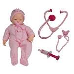 Boneca Bebê Check-me Chora Tosse Espirra - Roma Brinquedos
