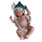 Boneca Bebe Reborn Alicia com Corpo Inteiro Siliconado