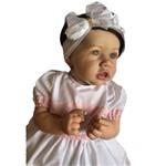 Boneca Bebê Reborn Ana Julia Autentica com Corpo Inteiro