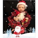 Boneca Bebê Reborn Ana Luz Edição Limitada de Natal
