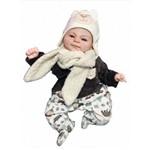 Boneca Bebê Reborn Angel Menino