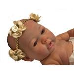 Boneca Bebê Reborn Autentica Rebeca com Corpo Inteiro