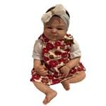 Boneca Bebe Reborn Malu Importada Autentica